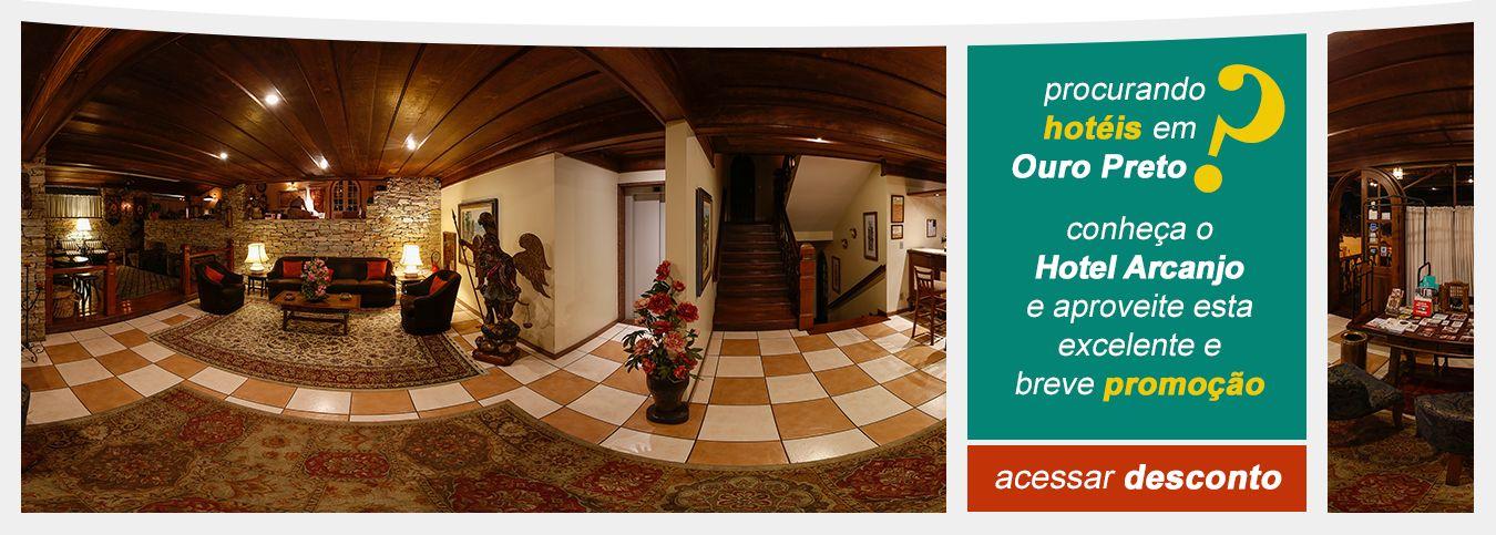 Hotéis em Ouro Preto-MG com Desconto