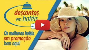 Descontos em Hotéis e Pousadas - Promoções